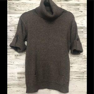Angora mix wool Esprit turtle neck sweater